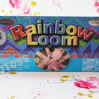 Nieuwe Rainbow Loom-pakket met metalen-haaknaald kopen